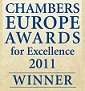 Nov obrChambers Europe Award for Excellence 2011zek