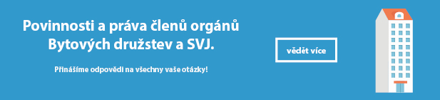 Online video kurz: Práva a povinnosti členů orgánů Bytových družstev a SVJ