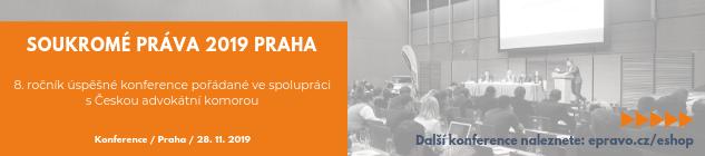 Konference: Soukromé právo Praha 2019