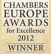 Chambers Europe Awards for Excellence 2012