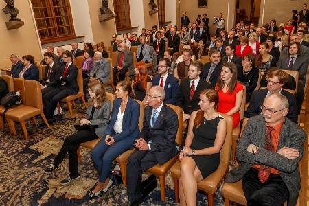 Slavnostní vyhlášení soutěže Randovy nadace