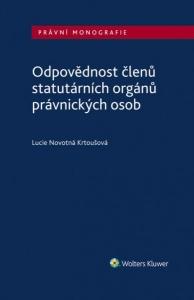 Odpovědnost členů statutárních orgánů právnických osob (E-kniha)