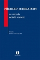Přehled judikatury ve věcech nekalé souteže (E-kniha)