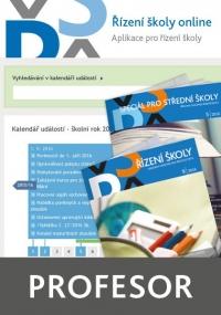 Řízení školy online - aplikace pro řízení školy - balíček Profesor (Online)