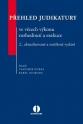 Přehled judikatury ve věcech výkonu rozhodnutí a exekuce - 2. vydání (Balíček - Tištěná kniha + E-kniha Smarteca)