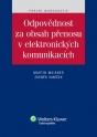 Odpovědnost za obsah přenosu v elektronických komunikacích (E-kniha)