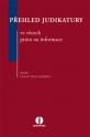 Přehled judikatury ve věcech práva na informace (E-kniha)