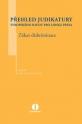 Přehled judikatury Evropského soudu pro lidská práva - Zákaz diskriminace