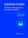 European Studies – The Review of European Law, Economics and Politics