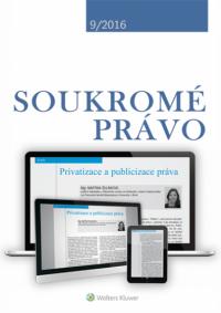 Soukromé právo (Balíček - tištěný časopis + elektronický časopis v pdf)