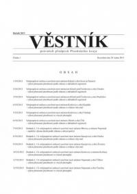 Věstník právních předpisů Plzeňského kraje (Věstník)