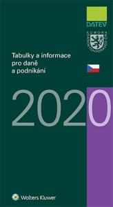 Tabulky a informace pro daně a podnikání 2020 (Balíček - Tištěná kniha + E-kniha Smarteca)