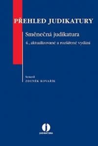 Přehled judikatury. Směnečná judikatura (E-kniha)