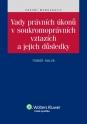 Vady právních úkonů v soukromoprávních vztazích a jejich důsledky (E-kniha)