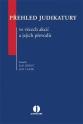 Přehled judikatury ve věcech akcií a jejich převodů (E-kniha)