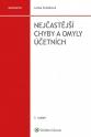 Nejčastější chyby a omyly účetních, 3. vydání (Balíček - Tištěná kniha + E-kniha Smarteca + soubory ke stažení)