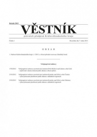 Věstník právních předpisů Královéhradeckého kraje (Věstník)