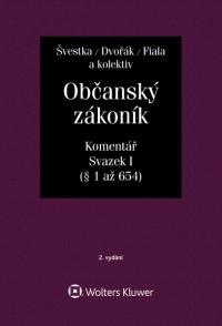 Občanský zákoník (zák. č. 89/2012 Sb.). Komentář. Svazek I (obecná část) - 2. vydání (E-kniha)