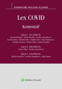 Lex COVID (č. 191/2020 Sb., č. 209/2020 Sb., č. 210/2020 Sb.) - komentář (Balíček - Tištěná kniha + E-kniha Smarteca + soubory ke stažení)