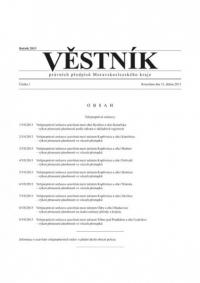 Věstník právních předpisů Moravskoslezského kraje (Věstník)