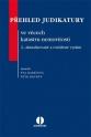 Přehled judikatury  ve věcech katastru nemovitostí (E-kniha)