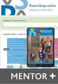 Řízení školy online - aplikace pro řízení školy - balíček Mentor Plus (Online)