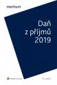 meritum Daň z příjmů 2019 (Balíček - Tištěná kniha + E-kniha Smarteca)