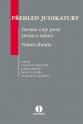Přehled judikatury: Trestné činy proti životu a zdraví / Nutná obrana