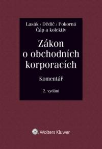 Zákon o obchodních korporacích (90/2012 Sb.). Komentář - 2. vydání (Balíček - Tištěná kniha + E-kniha Smarteca + soubory ke stažení)