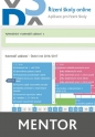 Řízení školy online - aplikace pro řízení školy - balíček Mentor (Online)