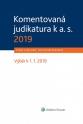 Komentovaná judikatura k a. s. 2019 (E-kniha)