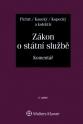 Zákon o státní službě. Komentář - 2. vydání (Balíček - Tištěná kniha + E-kniha Smarteca + soubory ke stažení)