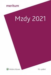 Meritum Mzdy 2021 (Balíček - Tištěná kniha + E-kniha Smarteca + soubory ke stažení)