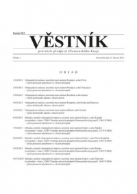 Věstník právních předpisů Olomouckého kraje (Věstník)