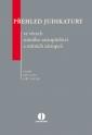Přehled judikatury ve věcech státního zastupitelství a státních zástupců (Balíček - Tištěná kniha + E-kniha WK eReader)