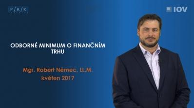 Odborné minimum o finančním trhu