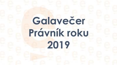 Galavečer Právník roku 2019