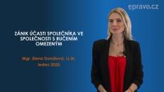 Zánik účasti společníka v s.r.o.