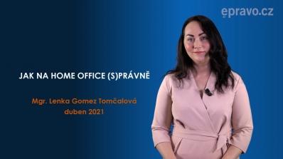 Jak na home office (s)právně