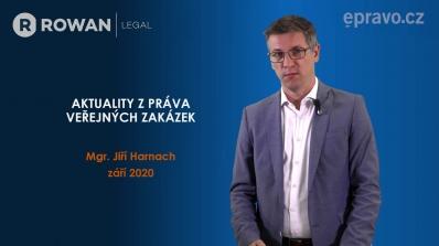 Aktuality z práva veřejných zakázek (září 2020)