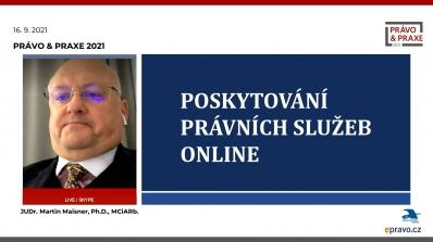 Právo & Praxe 2021 - Poskytování právních služeb online