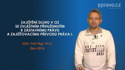 Zajištění dluhu v Občanském zákoníku s přihlédnutím k zástavnímu právu a zajišťovacímu převodu práva I.