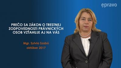 Súbor videoprednášok na tému Trestná zodpovednosť právnických osôb (TZPO)