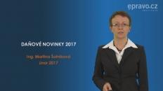 Daňové novinky 2017