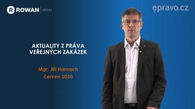 Aktuality z práva veřejných zakázek (červen 2020)