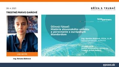 Trestné právo daňové - Účinná ľútosť: História slovenského unikátu a porovnanie s európskym štandardom